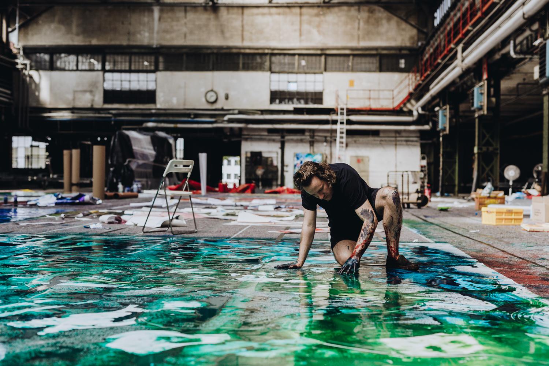 Urban und vital: Kunst von Christian Awe für DSTRCT-Neubau